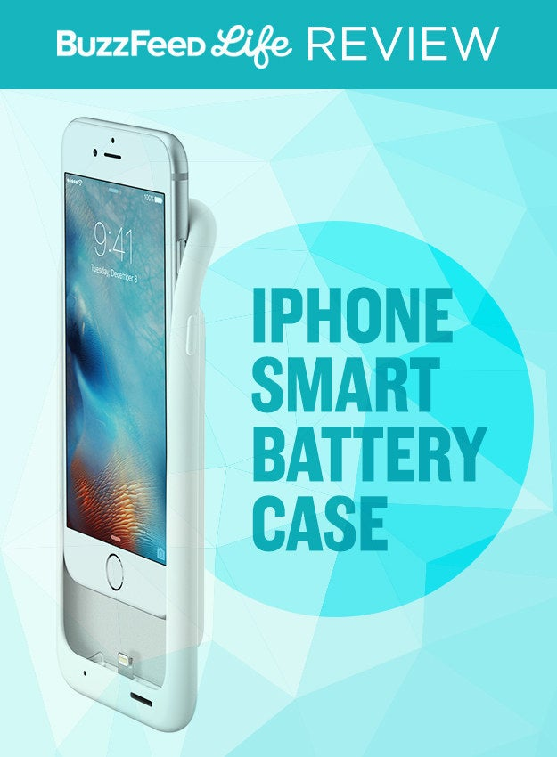 To match the battery performance of the iPhone 6S Plus, Apple is offering a new Smart Battery Case for the iPhone 6 and 6S (sorry, everyone else), priced at $99. The case hits stores on Dec. 8, and the company offered me a review unit on loan to test out.I took the case on a lil' weekend ski trip to see how long I could go without having to charge my iPhone – and this is what happened.