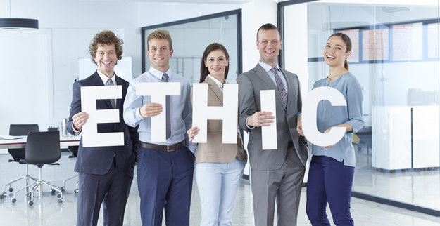 """Every Thursday when your boss makes you and your team spell """"ETHIC."""""""