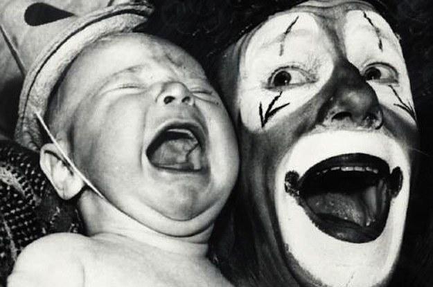 21 Fotos De Palhaços Vintage Que Vão Te Dar Arrepios