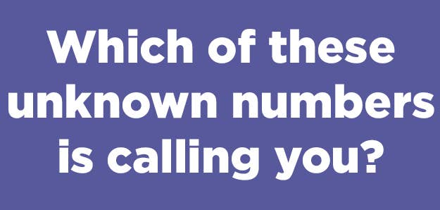 Who's That Unknown Caller?