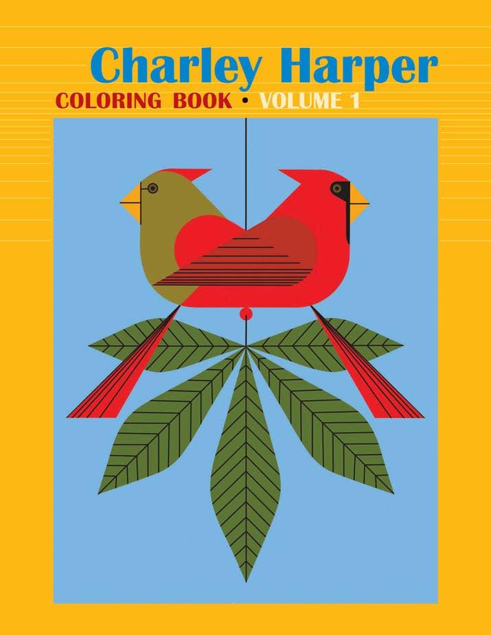 Charley Harper Coloring Book Volume 1