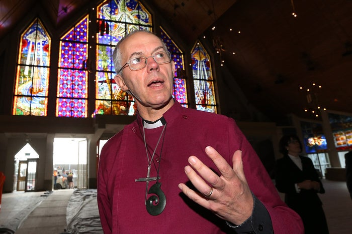 Archbishop of Canterbury, Justin Welby.