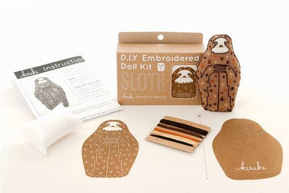 Make a sloth while being slothful. $18, Kiriki Press.