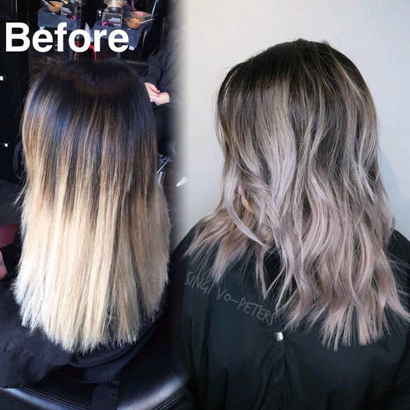 Don't worry. It's not actually about melting the hair. Colorists have been developing the skill for a while, and it's incredible.