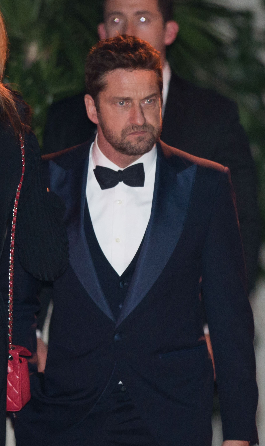 Gerard Butler Looked Like Grumpy Cat At The Golden Globes Afterparty