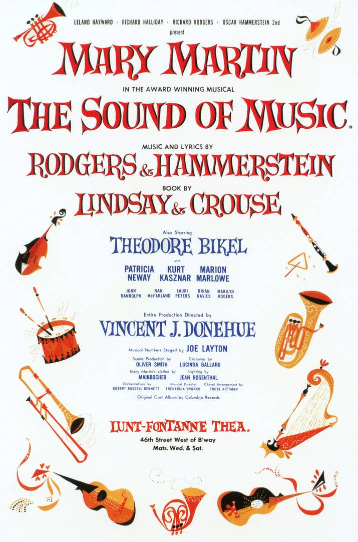 Image result for musical the sound of music 1959