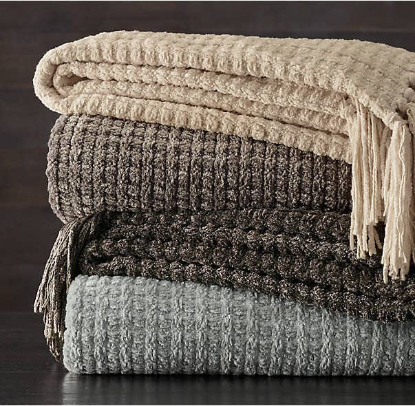 bde1dd419e 17. These heavyweight chenille throws that you have to call Chenille O Neal