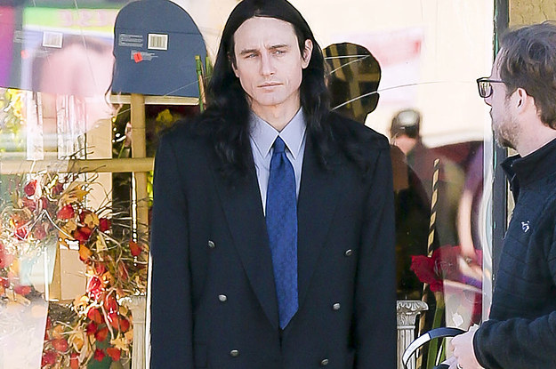 James Franco Makes A Convincing Tommy Wiseau On The Set Of