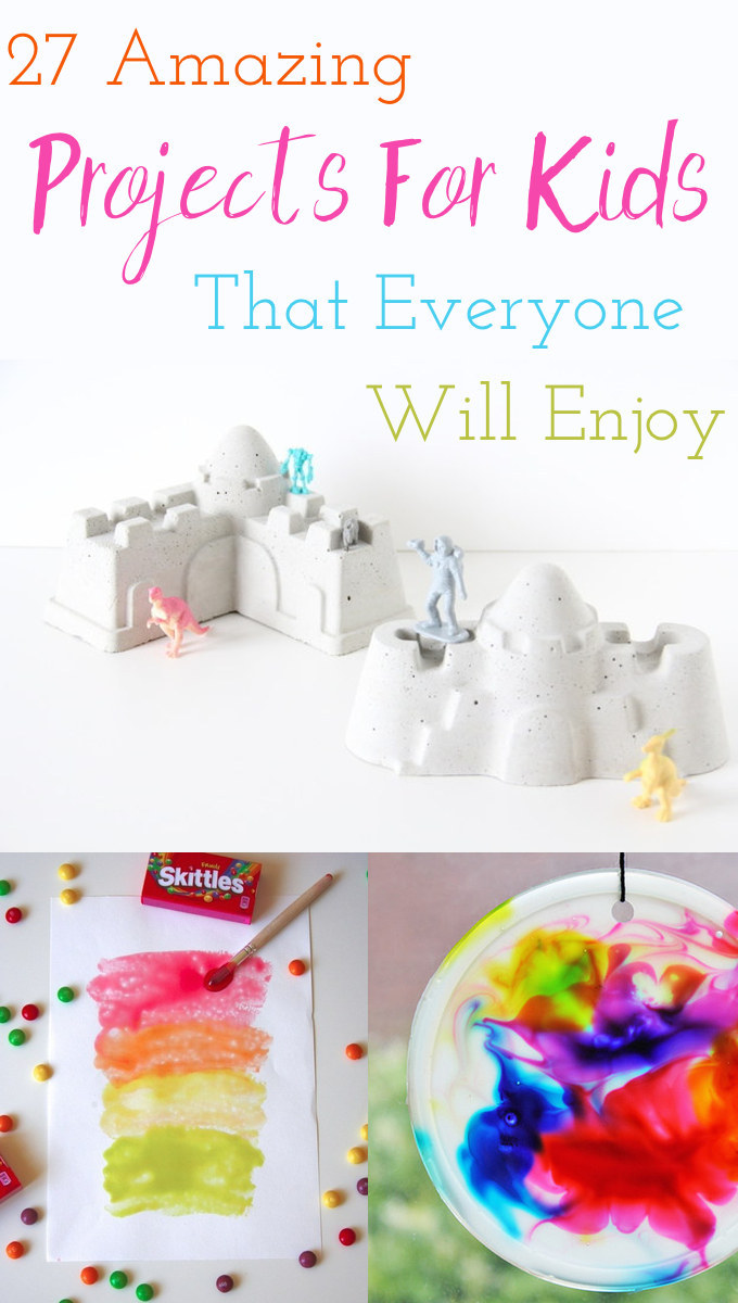 27 ridiculously cool projects for kids that adults will for Arts and crafts for 9 12 year olds