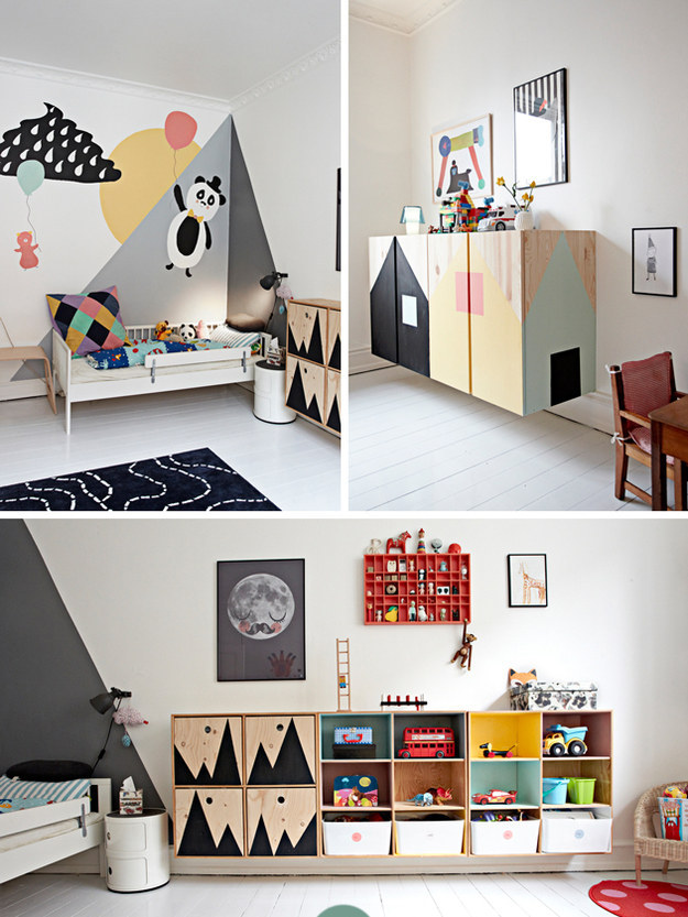 Room Design For Kid: 17 Scandinavian Kid's Room Design Ideas You'll Want To Steal
