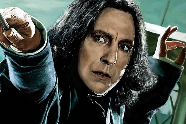 """The 23 Most Iconic Professor Snape Moments In """"Harry Potter"""""""