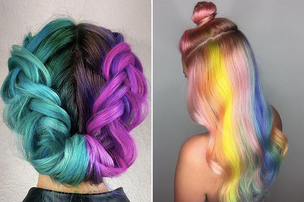 Pelo de colores fotos tumblr
