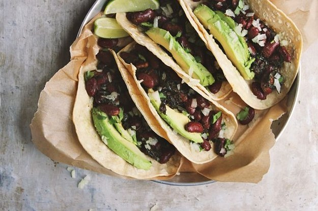 Greens and Beans Tacos