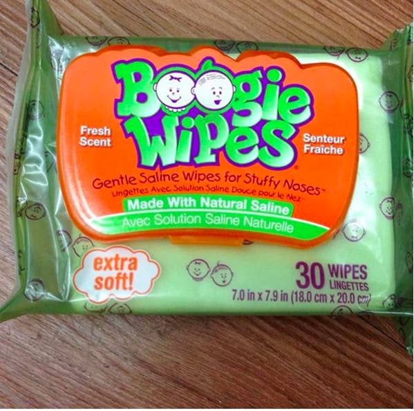 """""""They seem silly, but when your baby's nose is sore from running all day and that crusty booger just won't come off, these things are a lifesaver."""" —rebekahp4790d29bfGet a pack of three for $8.99."""