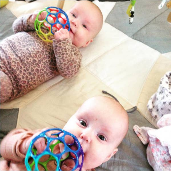 """""""It's super easy for little uncoordinated hands to hold, and my son entertains himself with it for 10 times longer than more expensive toys."""" —savannahkatecGet one here for $7.83."""