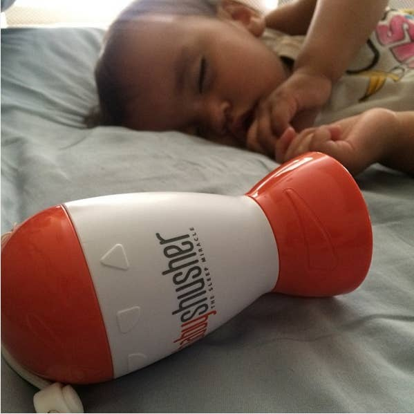 """""""We travel a lot, and it's basically a portable white noise machine. Gets my little guy to sleep in just a few minutes without fussing."""" —laurent42a8b362fGet it here for $31.43."""