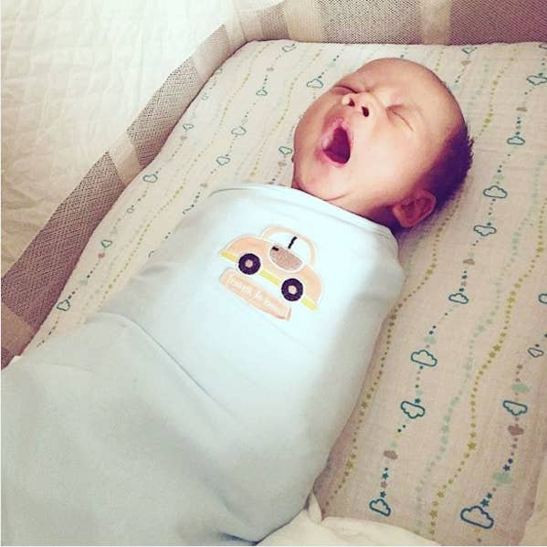 """Swaddling for dummies."" —kellyl46Get it for $17.59."