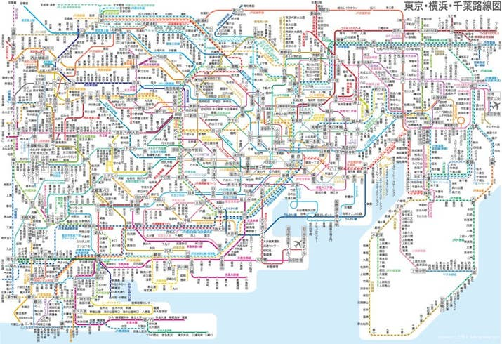 Maps Of Tokyo Thatll Make Your City Seem Insignificant - Japan map metro
