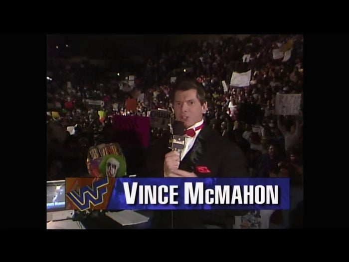 The atmosphere was thick in Providence Rhode Island the night of the 1994 Royal Rumble. Vince McMahon was all in for this PPV. I don't know if I've ever been more pumped up to watch a PPV than the 1994 Royal Rumble, especially with the way Vince called the action as the night unfolded!