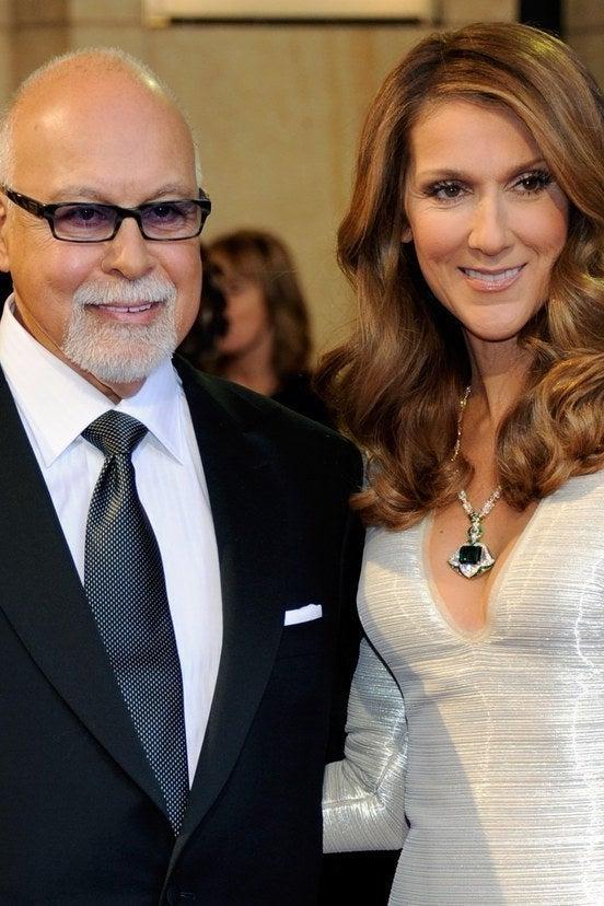 René Angélil and Celine Dion