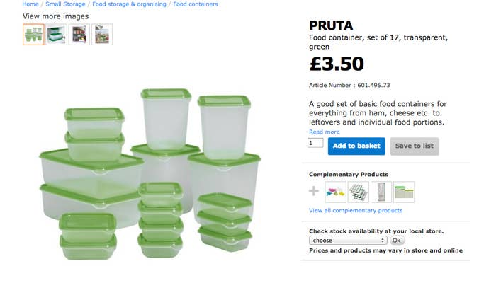 Yeah this IKEA set is OK, but the lids just aren't secure enough!