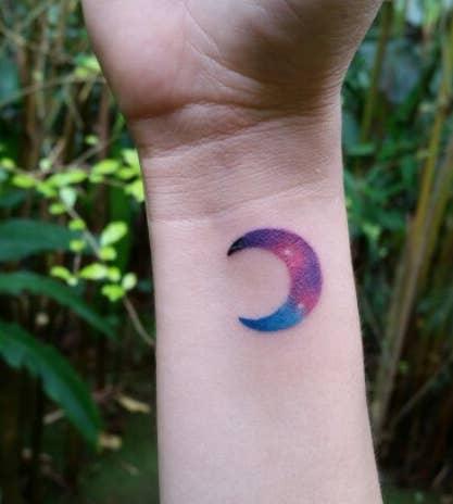 Una pequeña luna.—romanac