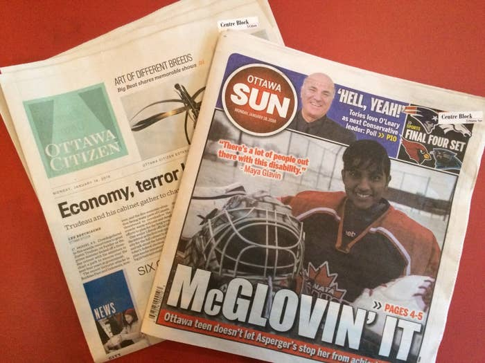 Why Does The Head Of Canada's Largest Newspaper Chain Want A