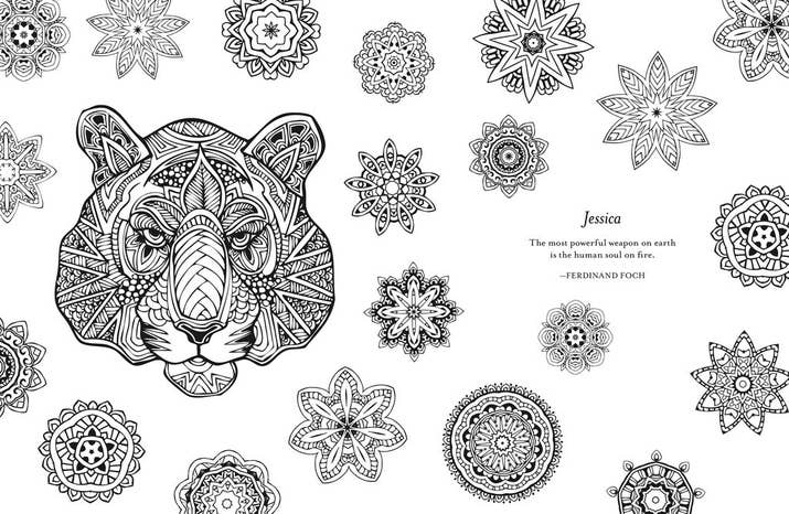 You Can Personalize Your Own Adult Coloring Book With Your Name On It