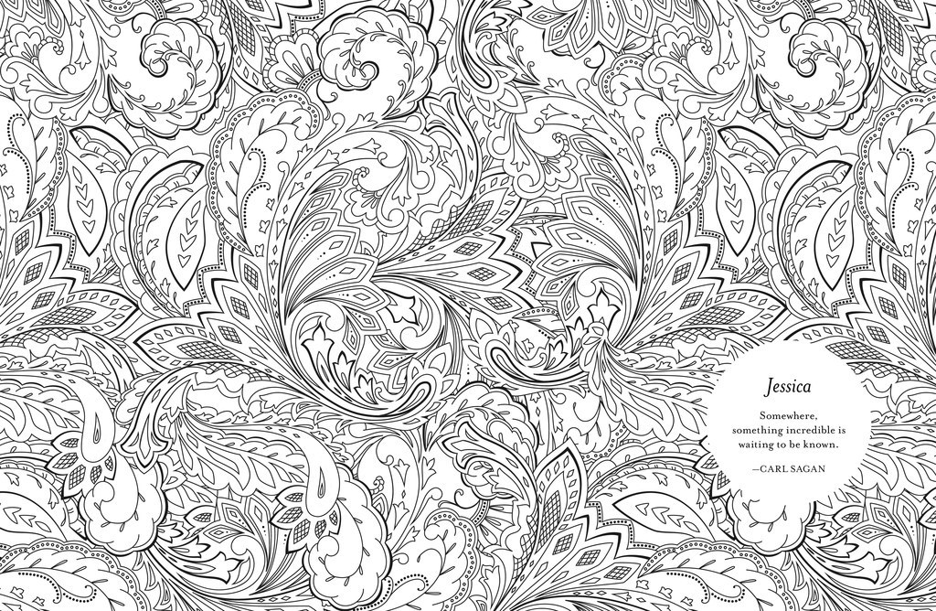 You Can Personalize Your Own Adult Coloring Book With Your ...