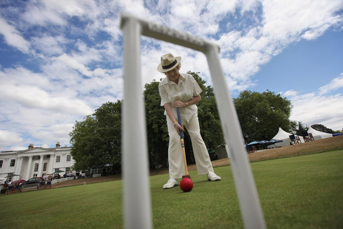 Let's face it,no one's gonna bother match-fixing croquet any time soon. Tennis was your wild and exciting lover – but you can trust croquet. You can settle down with croquet, raise a few kids, and have someone to talk to when you're old.