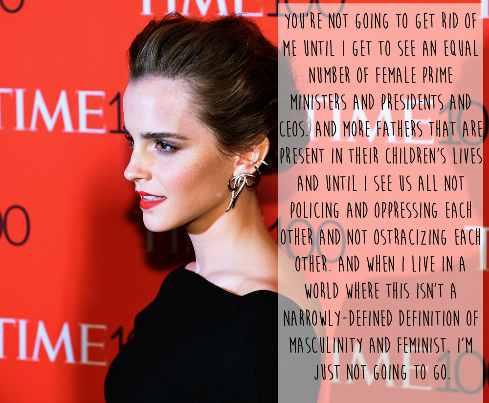 20 Times Emma Watson Shut Down Sexism In The Best Damn Way