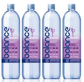 Balance water for women.