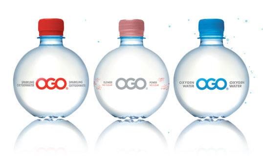 OGO oxygen water.