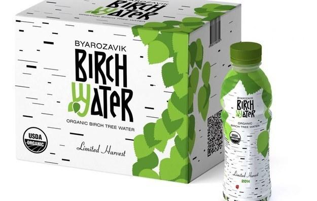 Birch water.