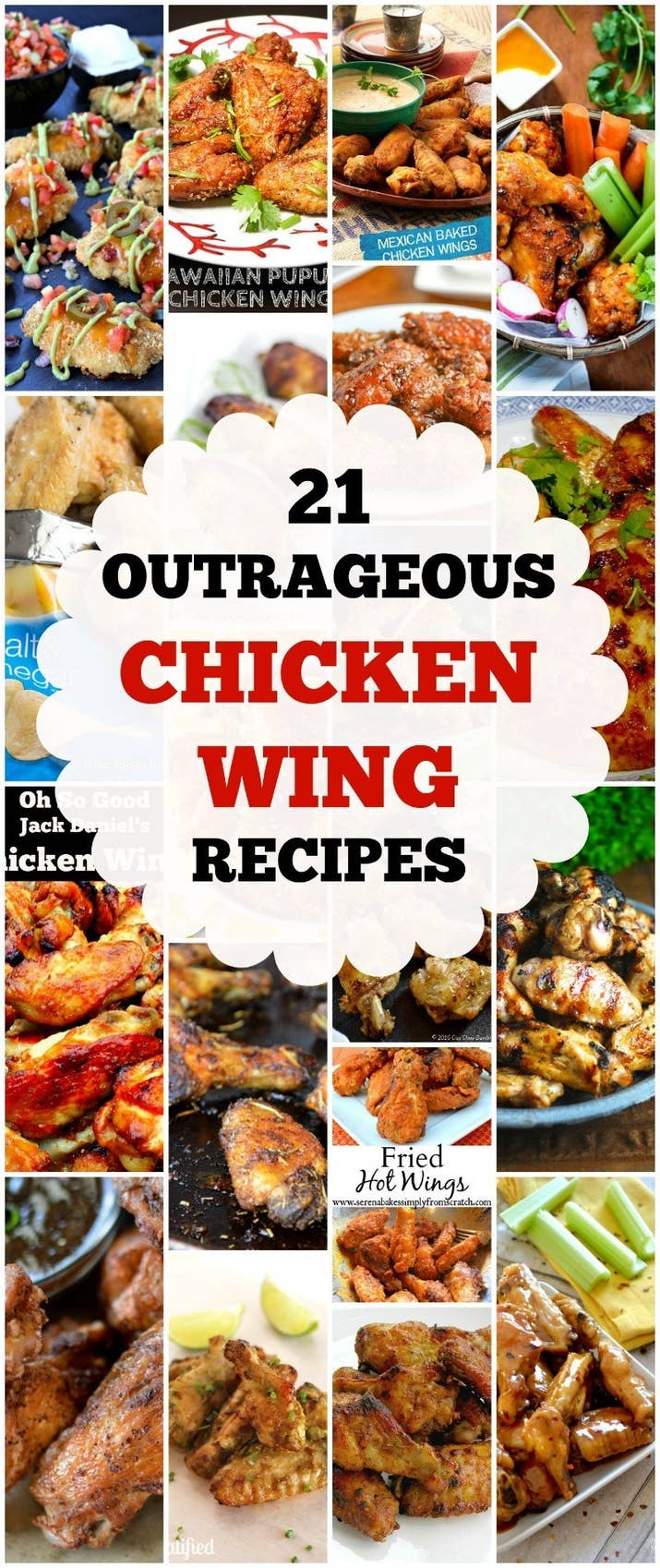 21 outrageous chicken wing recipes share on facebook share forumfinder Images
