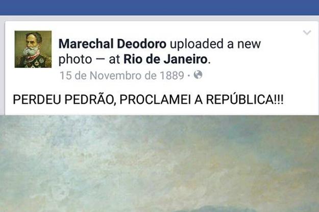 Esta é a melhor forma de ensinar história do Brasil para quem é viciado em internet