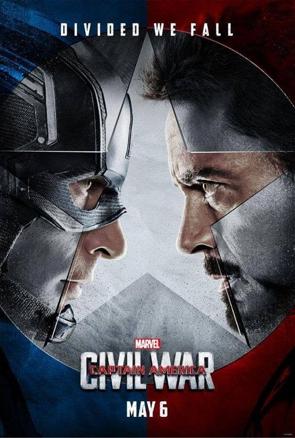 A feud between Captain America (Chris Evans) and Iron Man (Robert Downey Jr.) leaves the Avengers in turmoil.