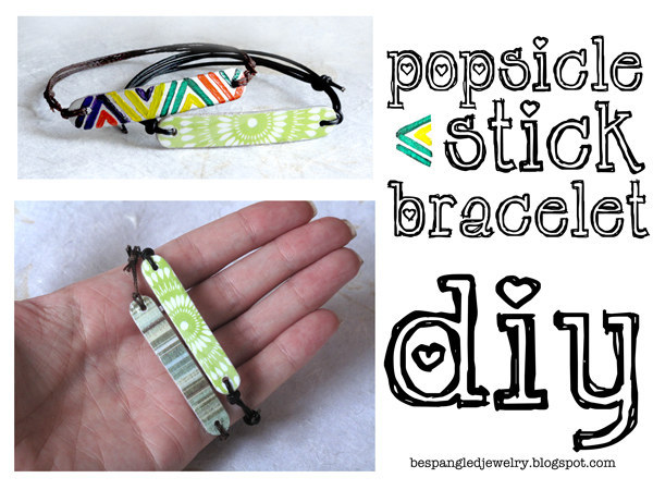 Upcycle your sticks into some fun bracelets: