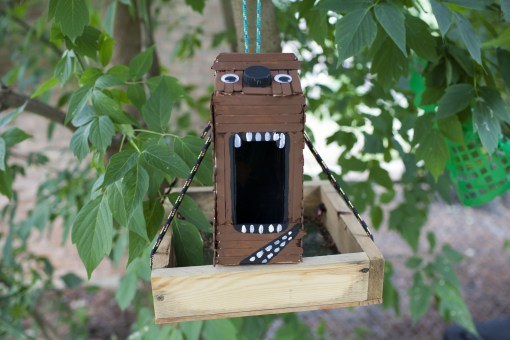 Feel the force with your own wookie birdhouse: