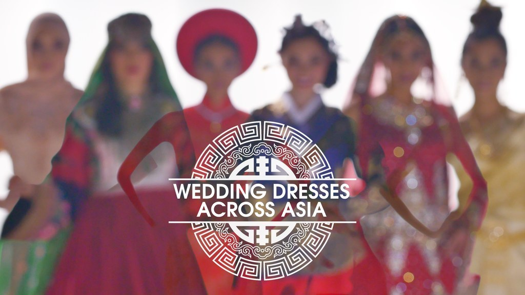 The Most Beautiful Wedding Dresses You've Never Seen Are From Asia