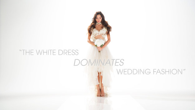 White wedding dress. Image: Buzzfeed