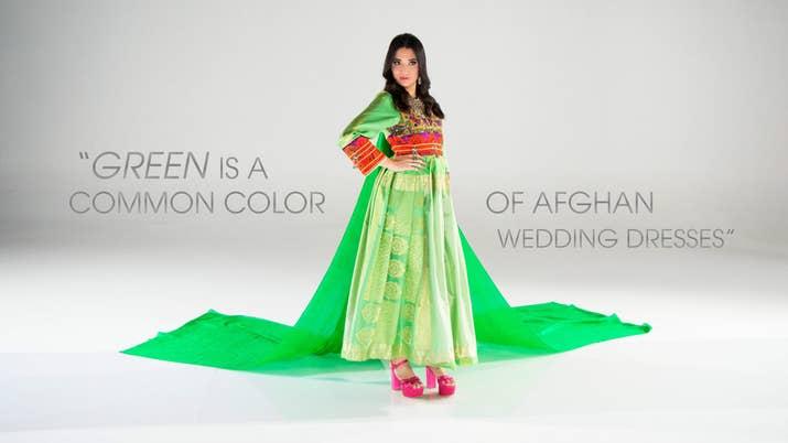 Dress By La Tulipe Hassina Ghani Ansary