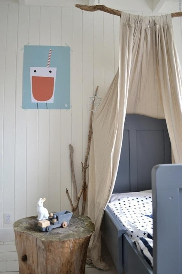 Curtain Canopy 14 diy canopies you need to make for your bedroom
