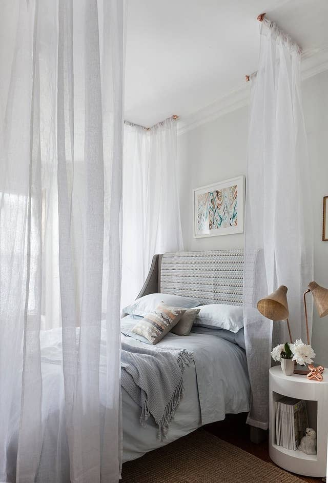 14 Diy Canopies You Need To Make For, Bed Canopy Curtains Ideas