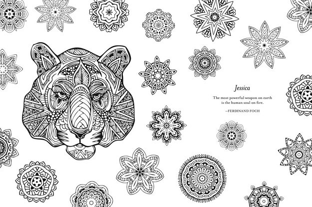 You Can Personalize Your Own Adult Coloring Book With Name On It