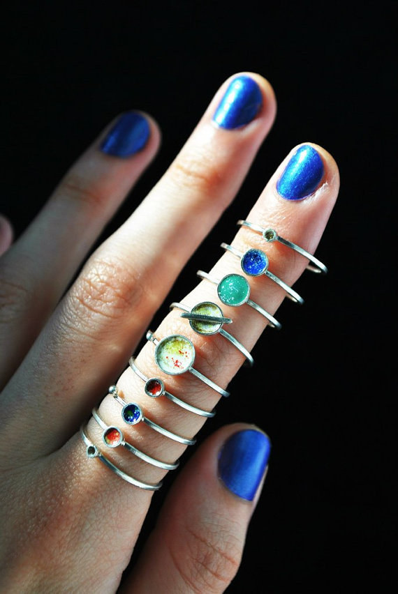 These stackable planet rings: