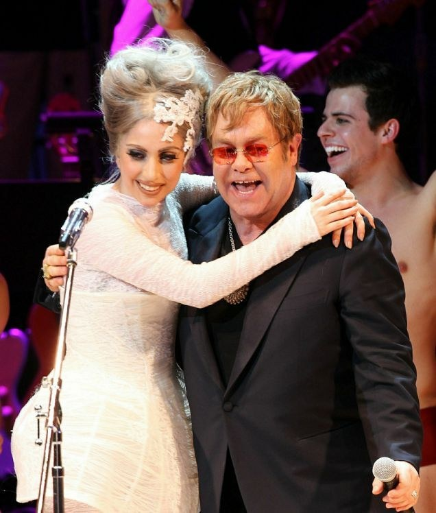 Elton John Says Lady Gaga Is Working On Music That Sounds Like Her Old Stuff