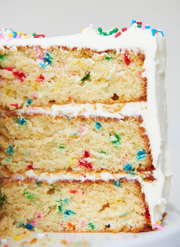 Funfetti cake recipe uk