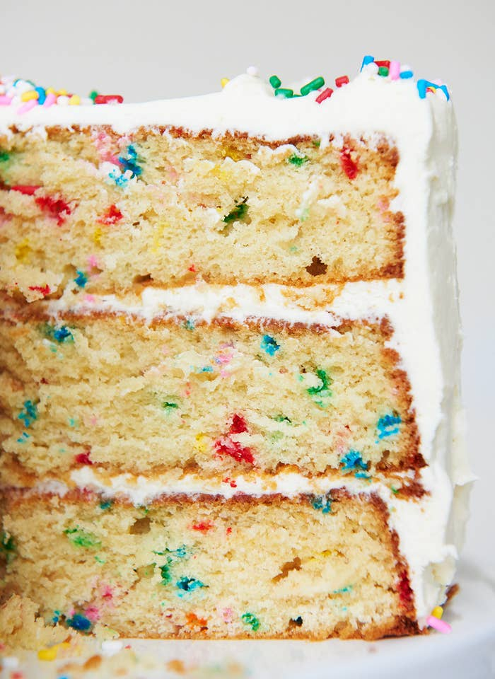 How To Turn Any Cake Into A Funfetti