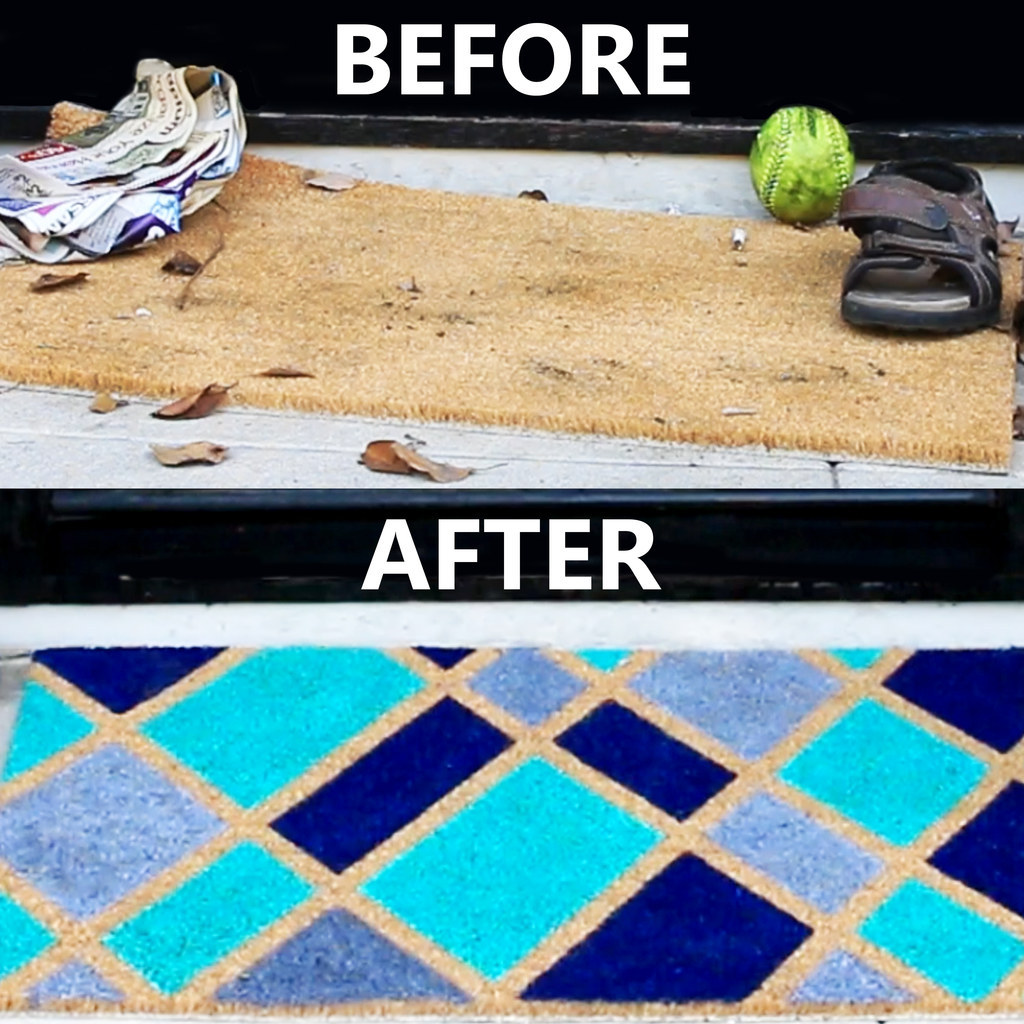 This DIY Doormat Will Give You Instant Curb Appeal